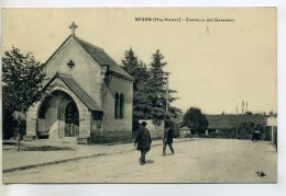 87 NEXON Anim Pres Chapelle Des Garennes  1910 Timb - Hirondelle édit    /D11-2018 - Frankrijk