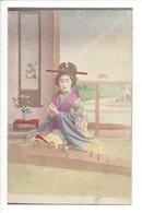 19729 - FEMMES - FRAU - LADY - JAPON - JAPAN - Jolie Carte Femme Japonaise Geisha (japanese Woman) - Japon