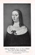 Clermont Ferrand (63) - Gilberte Pascal Femme De Florin Périer Portrait - Clermont Ferrand