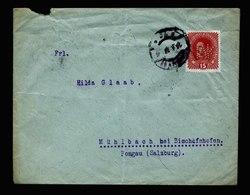 A5440) Österreich Austria Brief 1917 Mit Perfin WK - 1850-1918 Imperium