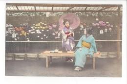 19733 - FEMMES - FRAU - LADY - JAPON - JAPAN - Jolie Carte Femme Japonaise Geisha Japanese Woman Umbrella - Japon