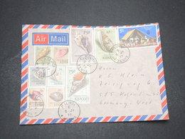 KENYA - Enveloppe De Malindi Pour L 'Allemagne En 1977 , Affranchissement Multiple Et Varié - L 16370 - Kenya (1963-...)
