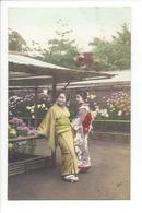 19735 - FEMMES - FRAU - LADY - JAPON - JAPAN - Jolie Carte Femme Japonaise Geisha Japanese Woman Kimono - Japon