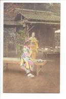 19736 - FEMMES - FRAU - LADY - JAPON - JAPAN - Jolie Carte Femme Japonaise Geisha Japanese Woman Kimono - Japon