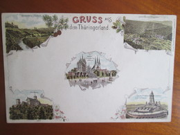Gruss Aus Thuringerland , Dos 1900 - Allemagne