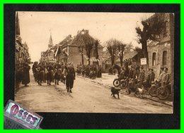 LAPLEAU.(Corrèze) Défilé Du Groupement Turenne N°20 (recto Verso) - Autres Communes