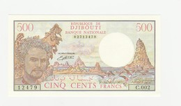 500 Francs UNZ - Djibouti