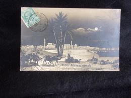 Libye .Tripoli .Ritorno Dal Mercato . Carte Photo. Voir 2 Scans . - Libia