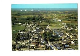 Cpm - AVOINE - 37 - L'ensemble Du Bourg Et Au Loin La Centrale Nucléaire - Terrain Football Tennis - Frankreich