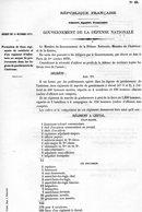 GUERRE De 1870 Decret N°28 Du 31 Octobre 1870 Formation De Deux Régiments De Cavalerie... - Decrees & Laws