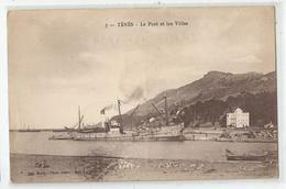 Algérie Ténès Le Port Paquebot Et Les Villas - Algérie