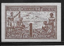 A.O.F.  1 Franc - 1944 - Pick N°34 - TTB - Billets