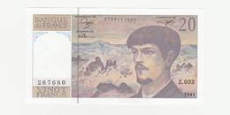 20 Franc - France UNZ - 1962-1997 ''Francs''