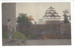19740-  JAPON - JAPAN -  Himeji Castle Girls Geisha - Kyoto