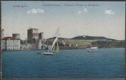 Châteaux D'Asie Au Bosphore, Constantinople, C.1910 - JPM CPA - Turkey