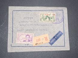 A.O.F. - Enveloppe En Recommandé Du Gouvernement Général De Dakar Pour Alger - L 16389 - A.O.F. (1934-1959)