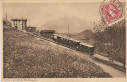 Leysin Et Pic Chaussy - Tramway - VD Vaud