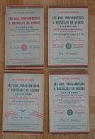 Les Avis, Proclamations Et Nouvelles De Guerre Bruxelles Brussel 1915 1917 Occupation Allemande Generalgouvernement - Gesetze & Erlasse