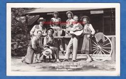 CPA Photo - GRESHAM , Wisconsin - Silver Spur Ranch - Groupe De Musique Musicien Guitare Cow Boy - Etats-Unis