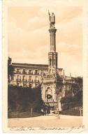 POSTAL   MADRID  -ESPAÑA  - ESTATUA DE COLON (STATUE DE COLUMBUS) - Madrid