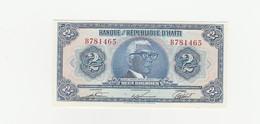 Haiti  2 Gourdes UNZ - Haïti