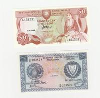 2 X Zypern UNZ - Chypre