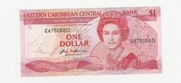 Ostkaribische Währungsunion  ONE Dollar UNZ - East Carribeans