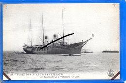 CPA 50 - Visite De S. M. LE TSAR à CHERBOURG - Le Yacht Impérial Le Standard En Rade - Cherbourg