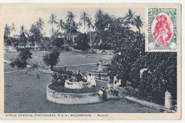 CPA MOSSURIL- CANON, PALM TREES - Mozambique