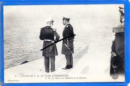 CPA 50 - Visite De S. M. LE TSAR à CHERBOURG - S. M. Le Tsar Et Le Ministre De La Marine - Cherbourg