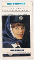 Publicité Air France 1977 (cl13) - Pubblicitari