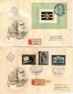 Hungary 1961. Composer Ferenc Liszt Set + Sheet Complete Garniture On FDC Michel: 23.20 EUR !!! - FDC