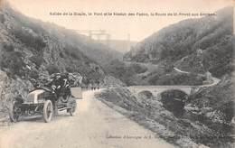 Vallée De La Siaule (63) Le Pont Et Le Viaduc Des Fades - La Route De St Priest Aux Ancises - France