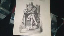 Affiche (gravure) - LOUIS XI à PERONNE - Affiches