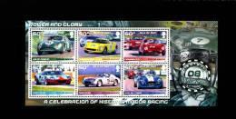 ISLE OF MAN - 2008  HISTORIC MOTOR RACING  MS  MINT NH - Isola Di Man