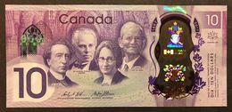 CANADA 10 Dollars 2017 Polymer Commemorative UNC Fds New LOTTO 1820 - Canada