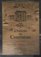035-- CHATEAU DU COURNEAU-MARGAUX DE1978 - Bordeaux