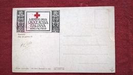 CROCE ROSSA ITALIANA 1917 NON VIAGGIATA - OSPEDALE DA GUERRA - Croce Rossa