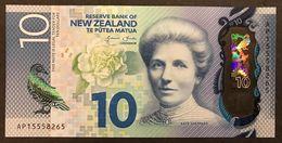 Nuova Zelanda NEW ZEALAND 10 Dollars 2015 Polymer UNC Pick 192 LOTTO 1811 - Nouvelle-Zélande