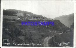 93163 ITALY SCOPPIO FORTE MONTE GUANO VIEW PANORAMA POSTAL POSTCARD - Italia