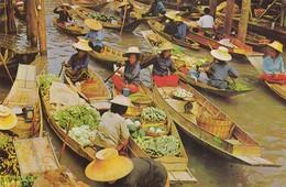 11939-THE FLOATING MARKET AT DAMNERNSADOUK IN RAJCHABURI-TAILANDIA-FP - Tailandia