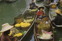 11940-DAMNOEN SADUAK-FLOATING MARKET-TAILANDIA-FP - Tailandia