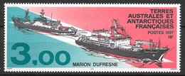TAAF N°215 3F Bateau Marion Dufresne 1997 ** - Neufs