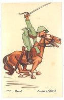 Cpa Signée Alfredo - à Nous La Gloire  ( Soldat à Cheval )   ...   ( S. 2574 ) - Illustratori & Fotografie