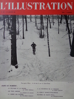 L'illustration N° 5107 25 Janvier 1941 Paris Sports D'hiver; La Mort De Henri Bergson Et De Pierre Mille; - L'Illustration