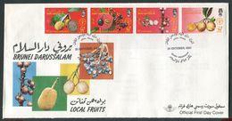 Brunei - Michel 365-368 - FDC - Brunei (1984-...)