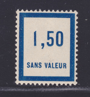 FRANCE FICTIF N°  F39 ** Timbre Neuf Gomme D'origine Sans Trace De Charnière -TB - Phantomausgaben