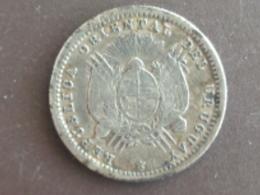 URUGUAY : 10 CENTIMOS 1877 - Uruguay