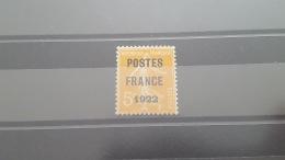 LOT 397009 TIMBRE DE FRANCE NEUF** N°33 VALEUR 425 EUROS  TB - Non Classés