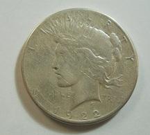 USA 1 Dollar 1922 Silver - Federal Issues
